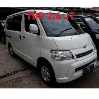 Daihatsu GranMax 1500-D 2012 AC/PS Tdp 2.6 jt