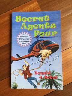 Childrens adventure spy book