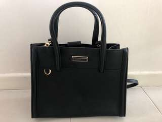 Charles and Keith Structured Bag