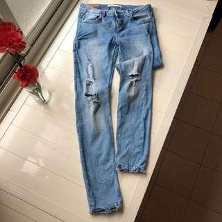 ZARA 牛仔褲 👖