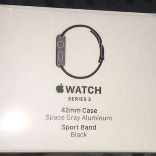 Apple iWatch Series 3, GPS  (No cellular) 42mm