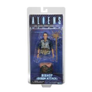 NECA ALIENS SERIES 5 QUEEN ATTACK BISHOP W/ FACEHUGGER & POD ACTION FIGURE ALIEN
