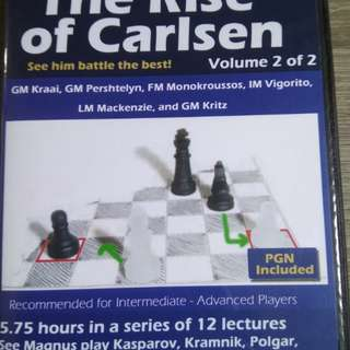 The Rise of Carlsen (Chess) Vol 2 of 2