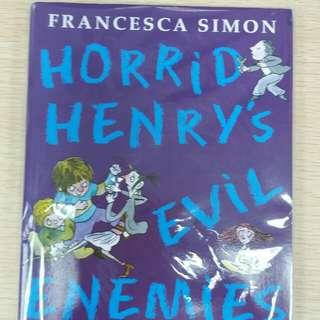兒童課外圖書 Horrid Henry $30/本 。西鐵沿線,現金交收 。歡迎查詢