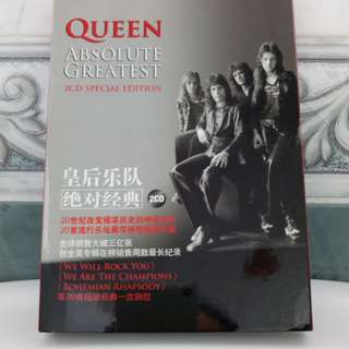 2-CD Queen Absolute Greatest