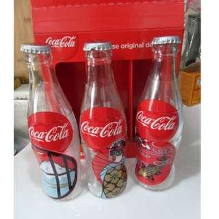 日本限定特別版 Coca Cola 可口可樂一盒 3 樽(淨樽)