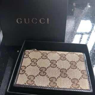 Gucci vintage款 散銀卡片包