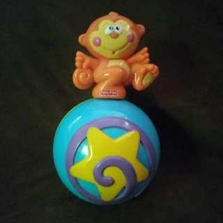 Rolling Monkey Fisher Price