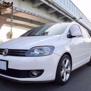 2010 VW Golf plus 1.4tsi 白