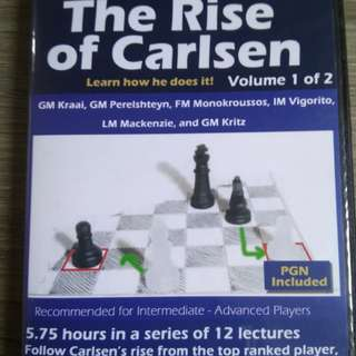 The Rise of Carlsen (Chess) Vol 1 of 2