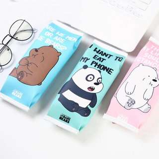 🐻WE BARE BEARS PENCIL CASE🐻