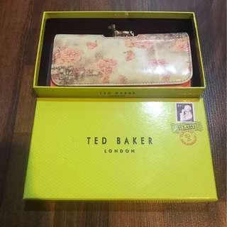 TED BAKER PINK DOG FLORAL WALLET