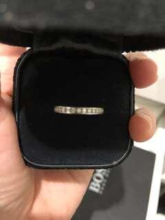 Authentic Tiffany & Co diamond band