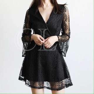 lace dress jumpsuit