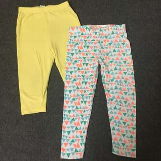 #bajet20 Cotton on leggings size 18-24m