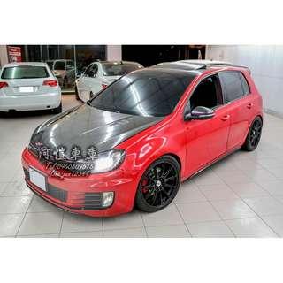 2011 Volkswagen GOLF GTI 6代 紅 精品改裝