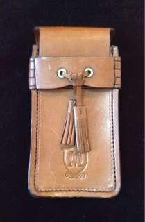 Massimo Dutti Leather Shoe Care Kit Case