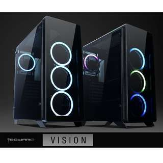 BNIB - Tecware Vision RGB Tempered Glass ATX case