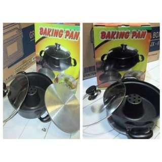 Cetakan Kue Bolu Import Baking Pan Original Bagus Bikin Kue Tanpa Oven