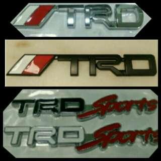TRD Emblem for Toyota (Harrier/CHR)
