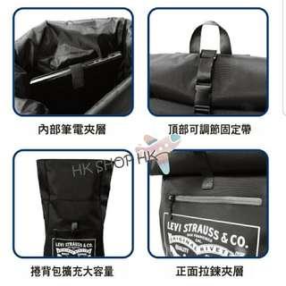 【台灣代購】3/26 到貨 LEVIS x 7-11聯名 防潑水筆電後背包