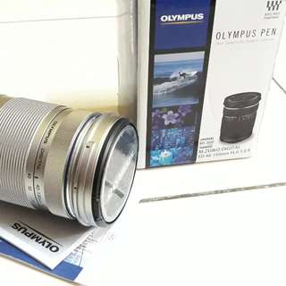 Only use ONCE Olympus Zoom Lens 40-150 mm