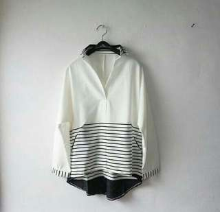 NEW BLOUSE SYERIL WHITE