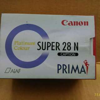 Canon Prima Super 28N Caption