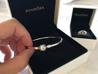 Pandora bangle and ring
