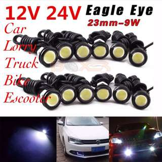 12v, 24, LED Eagle Eyes