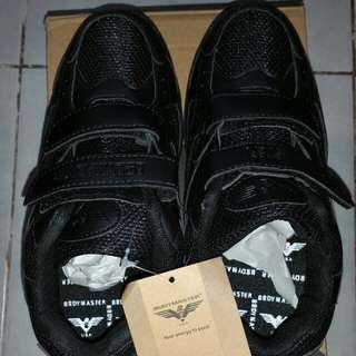 BN Black School Shoe