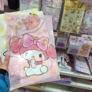Melody A4 file 日本直送