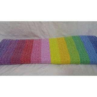 BNIB Rainbow Woven Wrap (Care Ring Sling)