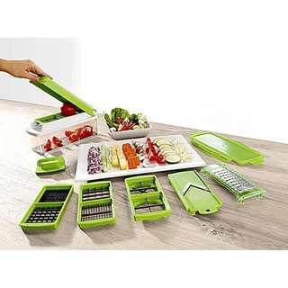 Nicer Dicer pisau cantik Alat Potong sayuran dan buah