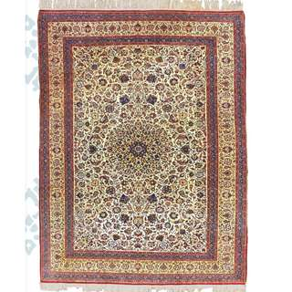 SAMEYEH LOT NO 16091 TOUDESHK NAIN FROM CENTRAL PERSIA 330 X 220 CM
