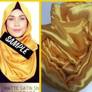 🆑 BN satin snood