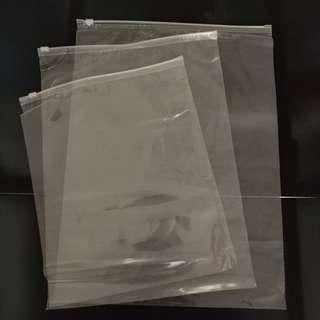 拉鏈透明收纳袋