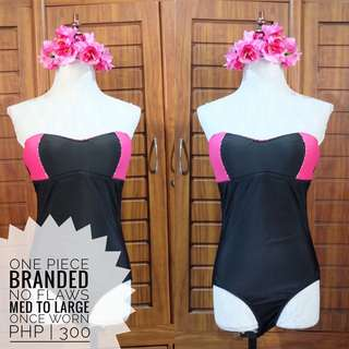 One Piece Branded Swimwear Preloved