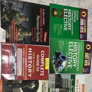 O level history elective guide books and textbook