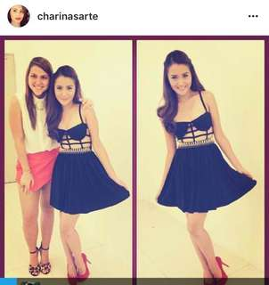 Charina Sarte'd cage dress 18k orig price used once