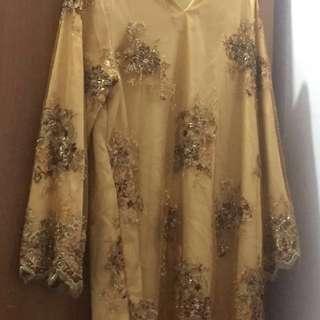 Baju kurung sequin #15off