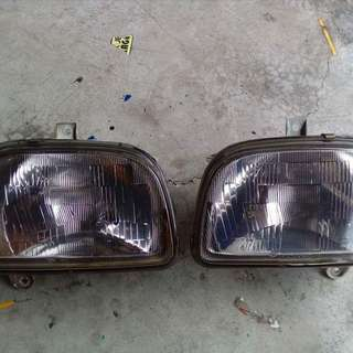 Daihatsu Mira L2s Headlamp Cromex Glass