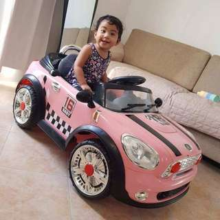 Baby Electronic Remote Control Car Baby Pink