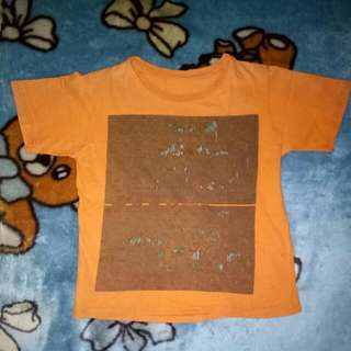 Sale Atasan Orange