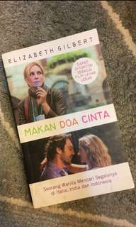 BUKU NOVEL Eat, Pray, Love