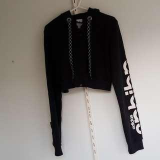 Cropped adidas jacket