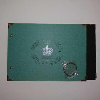 Green scrap book