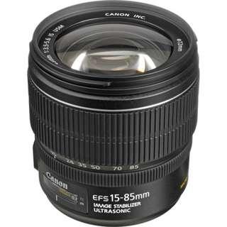 EF-S 15-85mm f/3.5-5.6 IS USM Lens Canon