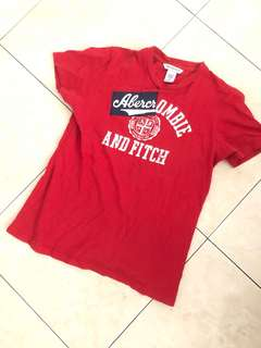 Abercrombie and Fitch t shirt authentic free pos