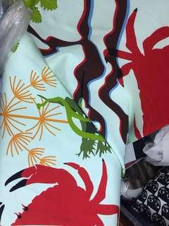 窗簾布料 curtain fabric 20M